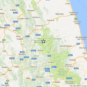 Guarda la versione ingrandita di Terremoto centro Italia, altra forte scossa del 3.8 a Macerata: sciame sismico continua