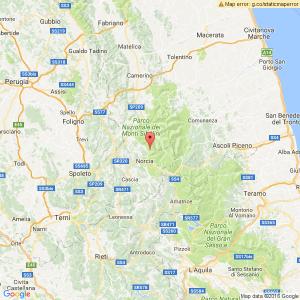 Terremoto Norcia: scossa nella notte, magnitudo 3.6