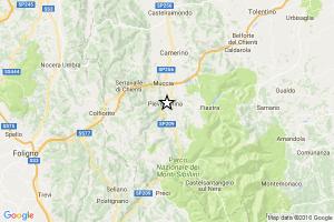 Terremoto Pieve Torina, ancora una scossa del 4.8 avvertita fino a Roma