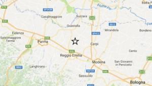 Terremoto Emilia, scossa magnitudo 3.7 a Parma