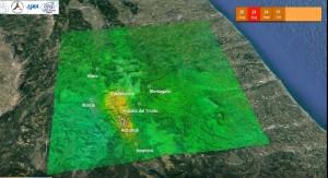 Terremoto Italia centrale, lo spostamento del suolo: animazione Ingv