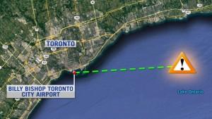 Toronto: aereo sfiora drone, tragedia sfiorata