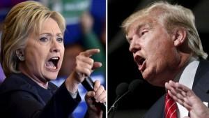 Guarda la versione ingrandita di Trump o Hillary, il matto ed evasore o la bugiarda antipatica