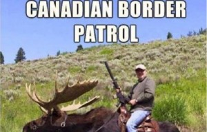 Guarda la versione ingrandita di Elezioni Usa: Donald Trump vince, americani scappano in Canada. Sito immigrazione in tilt (foto da Twitter)