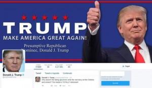 Guarda la versione ingrandita di Elezioni Usa, Donald Trump senza Twitter. Staff glielo toglie e Obama lo prende in giro...