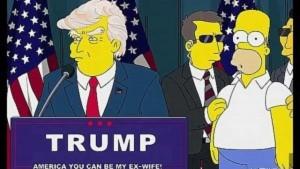 Guarda la versione ingrandita di Donald Trump presidente? I Simpson nel 2000 avevano previsto tutto