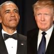 Donald Trump alla Casa Bianca, ricevuto da Obama
