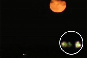 UFO Youtube: oggetto volante non identificato durante la superluna