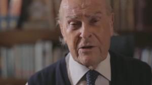 """YOUTUBE Umberto Veronesi e lo spot pro-eutanasia: """"Una morte con dignità"""""""