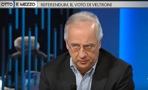 """Walter Veltroni: """"Voto Sì al referendum. Il No porterebbe instabilità in Italia"""""""