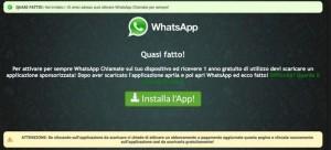 Whatsapp gratis tutta la vita: occhio all'ultima truffa via mail