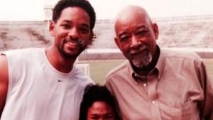 Guarda la versione ingrandita di Will Smith, il figlio Trey, e suo papà