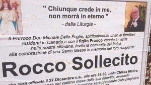 Grumo Appula (Bari), manifesto del parroco per il boss ucciso Rocco Sollecito