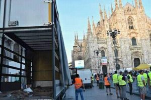 Attentato Berlino, società del camion operava anche in Italia: foto su Facebook