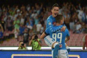 """Champions, Napoli agli ottavi. Callejon: """"Ottenuto quello che volevamo"""""""