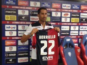 Cagliari, ko Marco Borriello meno grave del previsto