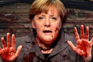 Attentato Berlino, Merkel con faccia e mani insanguinate il tweet dell'estrema destra olandese3