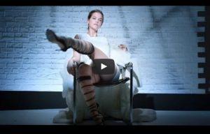 Barbara Palvin come Sharon Stone per Love Magazine VIDEO