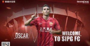 Calciomercato Chelsea, Oscar allo Shanghai SIPG per 60 milioni