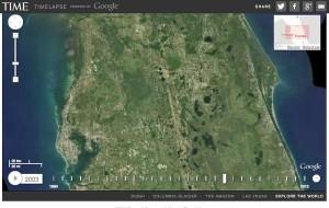 Google Earth, viaggio nel tempo con la funzione Timelapse