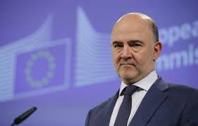 Pierre Moscovici (foto Ansa)