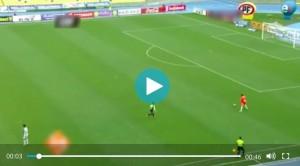 YOUTUBE Alejandro Carmago super gol da 60 metri