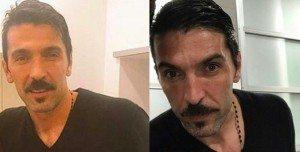 Gigi Buffon con i baffi (FOTO), look hipster per il portiere della Juve