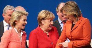Donne al comando, in Germania, ma col quid, Merkel umilia Trump, Renzi, Hollande & C.