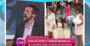 YOUTUBE Carlos Tevez-Vanessa Mansilla: matrimonio da sogno