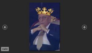 Supercoppa Italiana, Adriano Galliani sul trono: ironia social FOTO