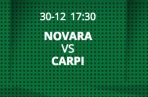 Novara-Carpi streaming - diretta tv, dove vederla