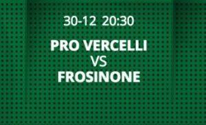 Pro Vercelli-Frosinone streaming - diretta tv, dove vederla