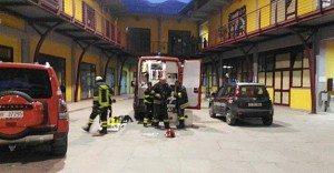 Torino, scoppio e incendio in poligono