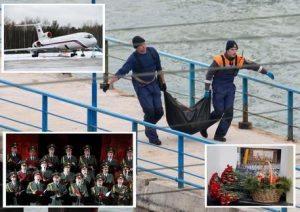 """Aereo militare russo precipita, Mosca: """"Probabile errore umano o guasto"""""""
