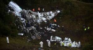 Chapecoense, aereo precipitato: piano di volo cambiato, ma carburante era finito
