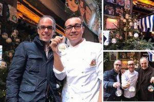 Napoli, rubato l'albero di Natale della storica pizzeria di Sorbillo