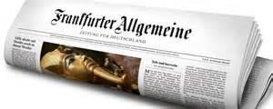 La Frankfurter Allgemeine Zeitung
