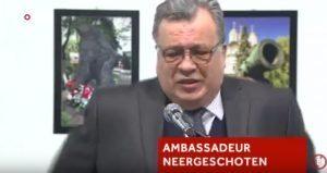 VIDEO YOUTUBE Ambasciatore russo ucciso, il momento dell'esecuzione