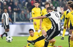 Juventus-Dinamo Zagabria 2-0. Video gol highlights, foto e pagelle. Higuain decisivo