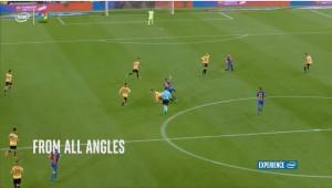 Barcellona-Real Madrid: replay a 360 gradi per la prima volta nel calcio