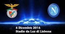 Benfica-Napoli streaming e diretta tv, dove vedere Champions League