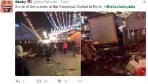 YOUTUBE Berlino, camion su folla al mercatino di Natale: i soccorsi