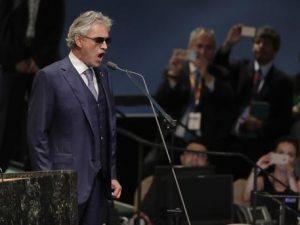 Andrea Bocelli canterà all'insediamento di Donald Trump