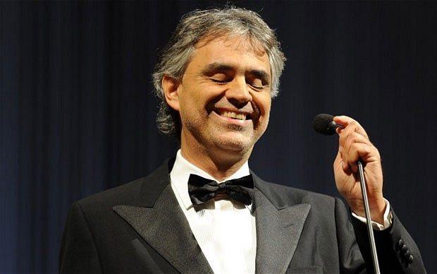 Andrea Bocelli il mio cinema, serata speciale stasera sabato 10 dicembre