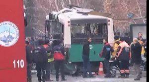 Turchia: bomba davanti università Kayseri, colpito bus: morti e feriti