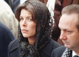 Carolina di Monaco al funerale di Daniele Casiraghi (FOTO)