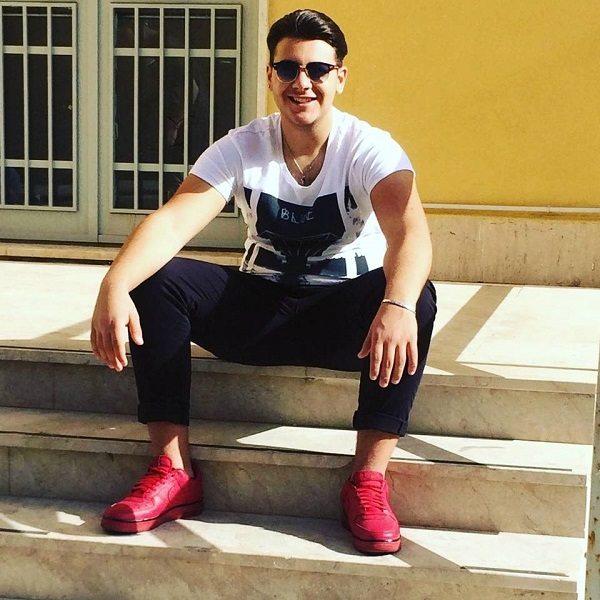 Salvatore Sorriso, morto in un incidente stradale a Catania il giovane cantante
