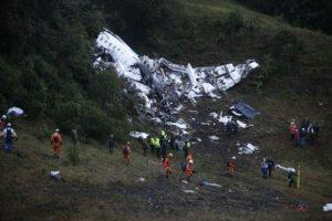 "Aereo Chapecoense caduto Colombia ""perché la benzina era finita"""