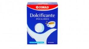 Conad ritira dolcificante: c'è aspartame, ma non è scritto nell'etichetta
