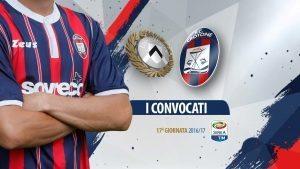 Udinese-Crotone streaming - diretta tv, dove vederla